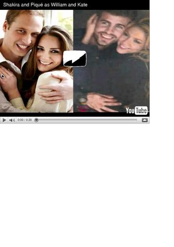 Shakira and Gerard Piqué wallpaper called shakira pique wedding photo...