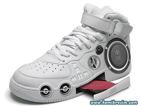 shoe stereo