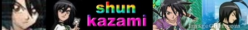 shun kazami banner