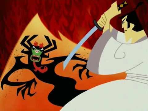 Samurai Jack kertas dinding containing Anime called the greatest samurai