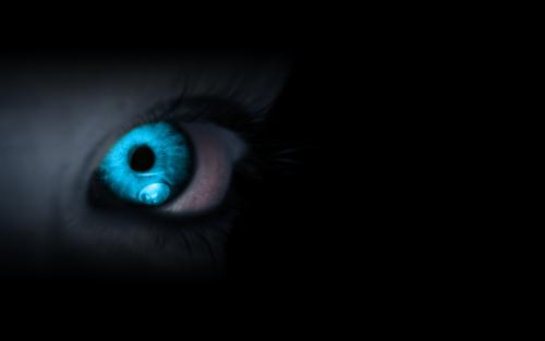 water eyes