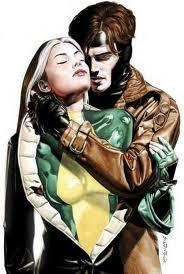 <3 gambit and rogue <3