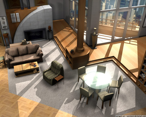 Frasier wallpaper containing a living room, a family room, and a den titled -Frasier-