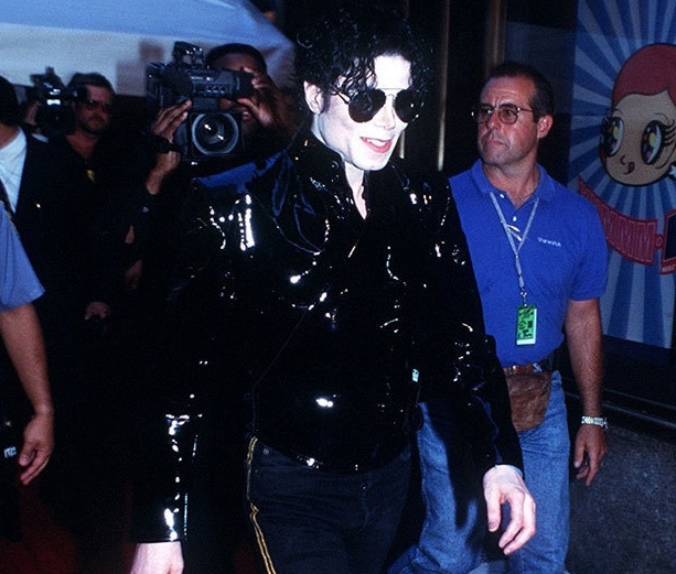 ~MTV AWARDS,1995,MICHAEL anda ROCK MAN!~