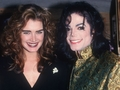 ~michael with brooke~ - michael-jackson photo
