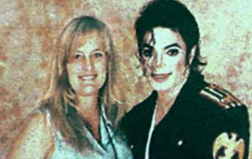 ~michael with debbie~((bad quality..this is how i found it))