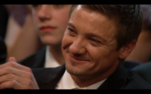 Jeremy Renner wallpaper containing a business suit called 2010 Academy Awards