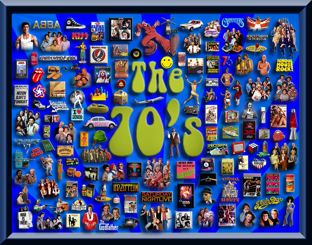 The 70s 70 s collage