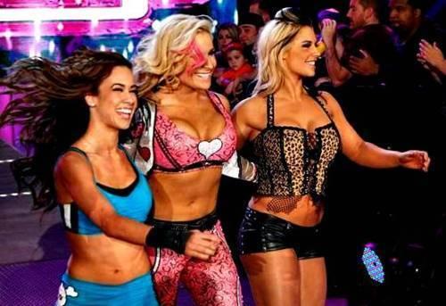 AJ,Natalya,Kaitlyn