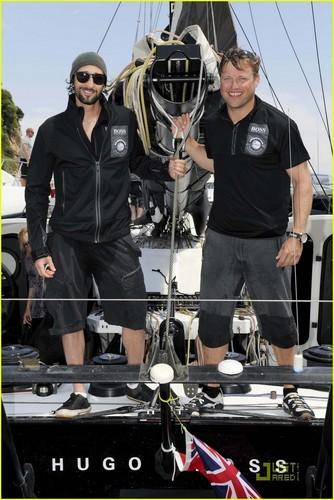 Adrien Brody: Hugo Boss Man in Monaco