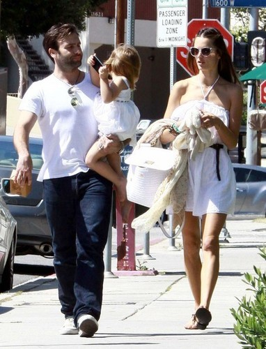Alessandra Ambrosio And Family Out In Brentwood 2