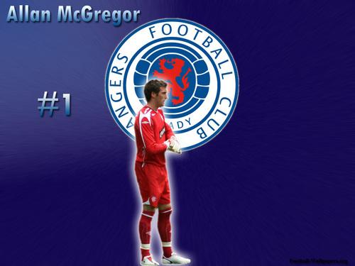 Allan McGregor -Rangers F.C.