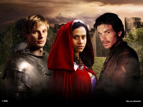 Arthur, Gwen & Lancelot