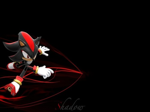 Awsome shadow the hedgehog wallpaper