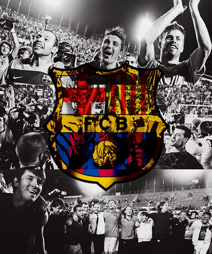 FC Barcelona wallpaper containing anime titled Barcelona FC