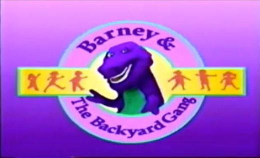 barney and the backyard gang cast barneys backyard gang