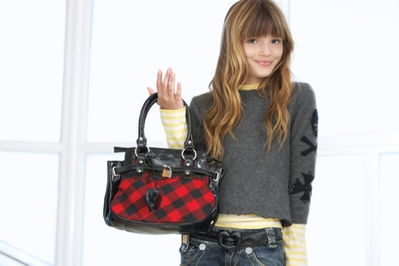Bella thorne picha shoots for Aldo Kids