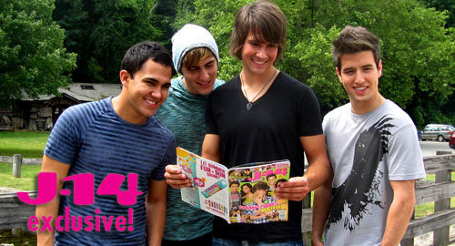Big Time Rush J-14 Photo Shoots