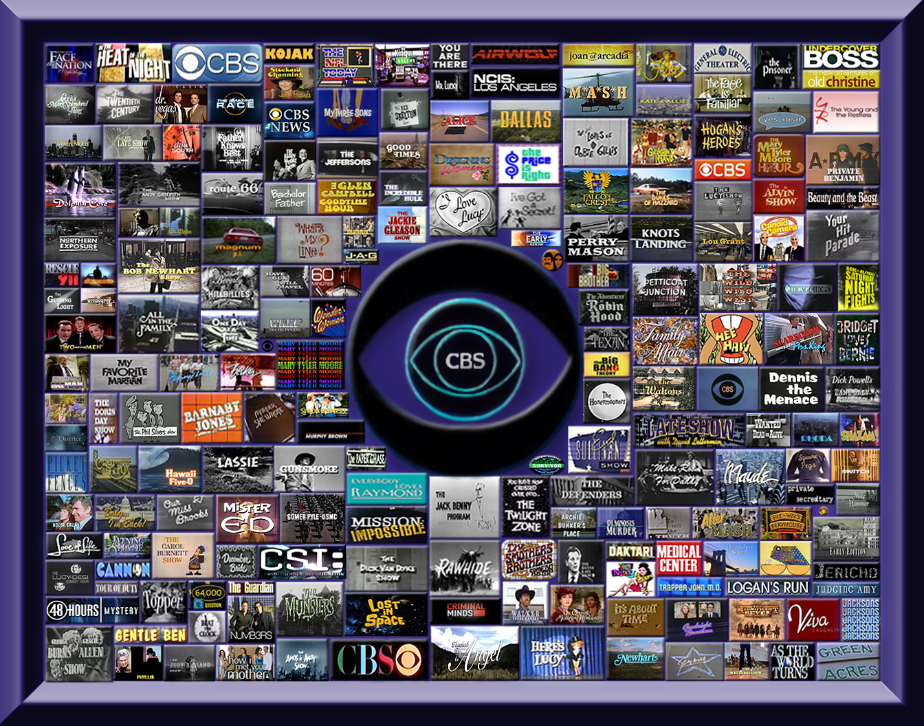 CBS televisheni Over the Years