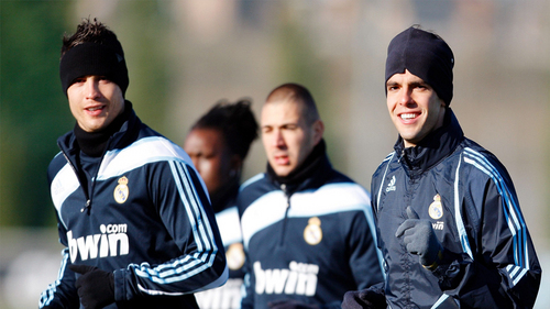 CR7 & Kaka Looking Awesome