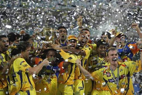 CSK are champions of IPL4!