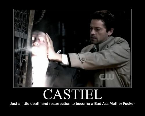 Castiel Demotivational