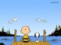 Charlie Brown and Snoopy - peanuts photo