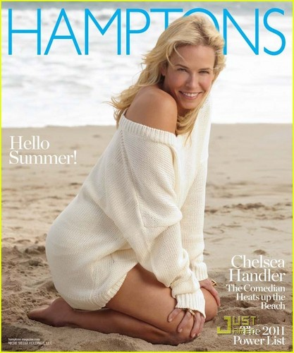 Chelsea Handler Covers 'Hamptons' Memorial día Issue