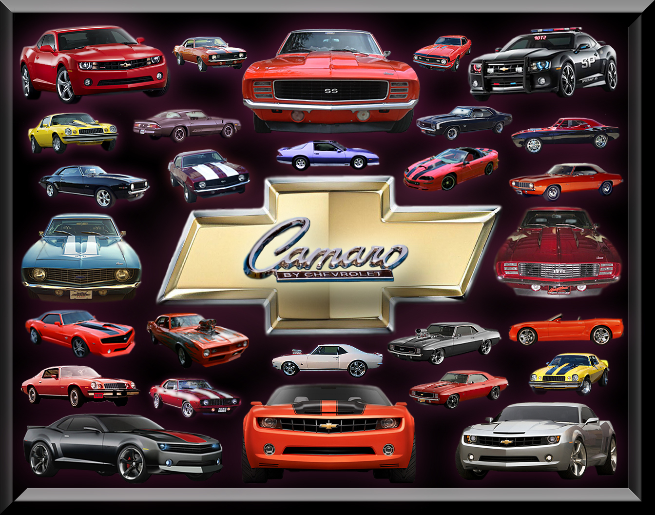 Camaros Images Chevy Camaro Over The Years Hd Wallpaper