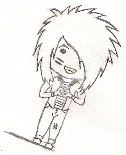 Blood on The Dance Floor wallpaper called Chibi Dahvie :3