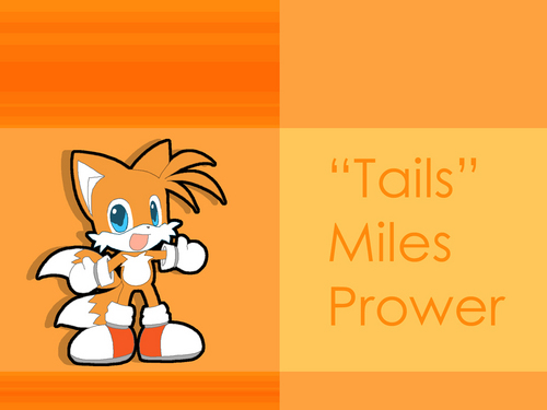 "Miles ""Tails"" Prower wallpaper possibly containing anime entitled Chibi Tails Wallpaper"