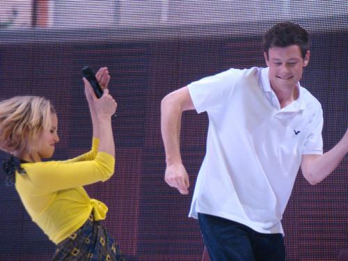 Cory & Dianna Glee Live! 2011