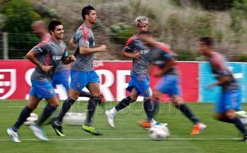 Cristiano Ronaldo Portugal Training (May 30, 2011)