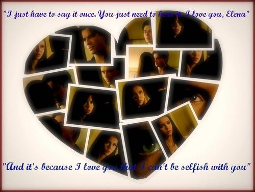 Damon&Elena-Rose