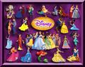 ডিজনি Princess Collage
