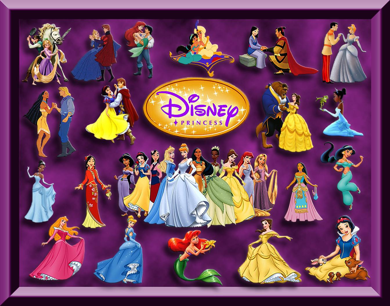 Disney Princess Collage