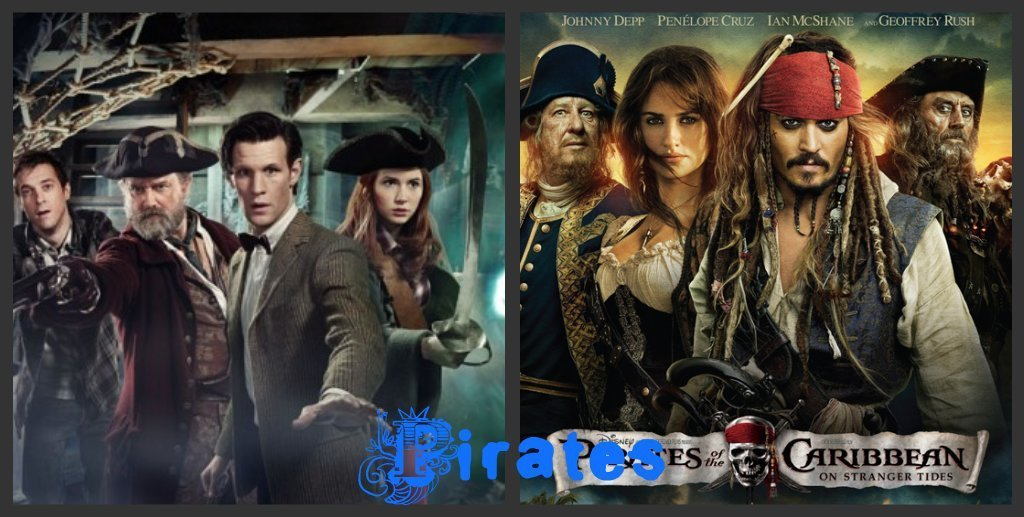 Doctor and caribbean pirates