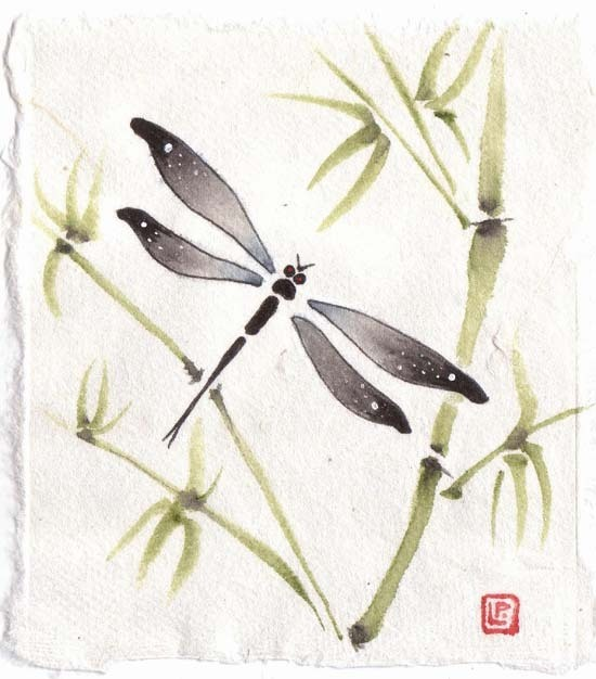 Watercolor Bamboo Tattoo: Dragonflies Images Dragonfly And Bamboo Wallpaper And