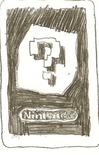 Drawn AR card for 3DS