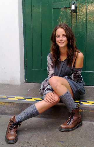 Effy Stonem wallpaper with a hip boot entitled Effy