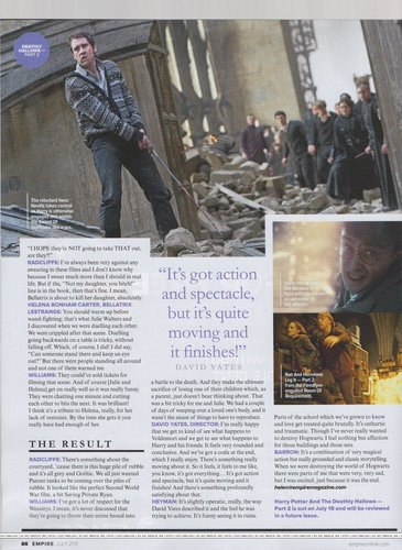 Empire Magazine HP7