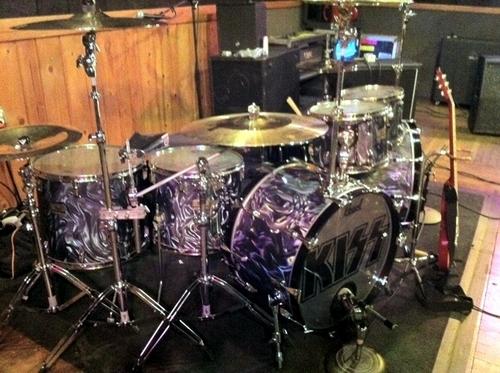 Eric Singer's kit