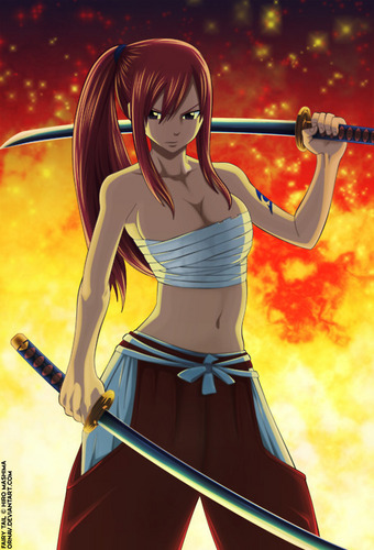 fairy tail wallpaper called Erza Scarlet