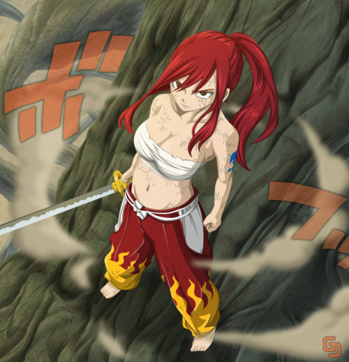 Images wallbase cute fairy tail erza scarlet wallpaper hot - Fairy tail erza sexy ...