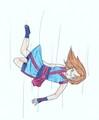 Falling - anime fan art
