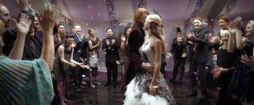 Fleur with Bill on wedding