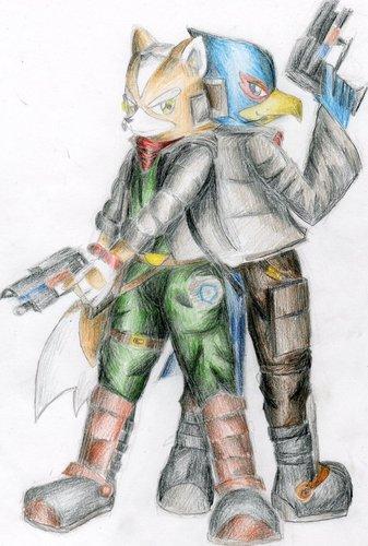 лиса, фокс and Falco