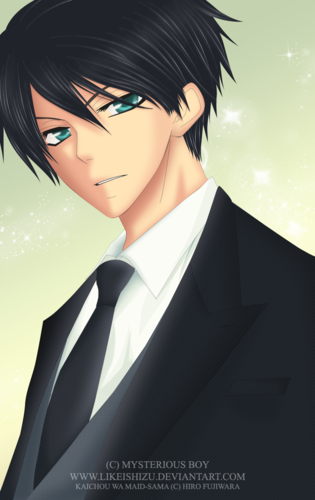 Kaichou wa Maid-sama wallpaper possibly containing a business suit and a suit called Gerard walker
