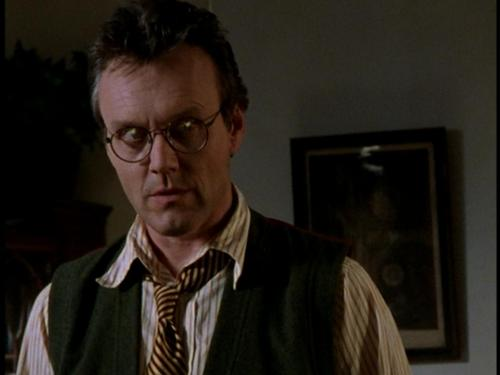 Buffy/Giles wallpaper possibly containing a business suit and a portrait called Giles