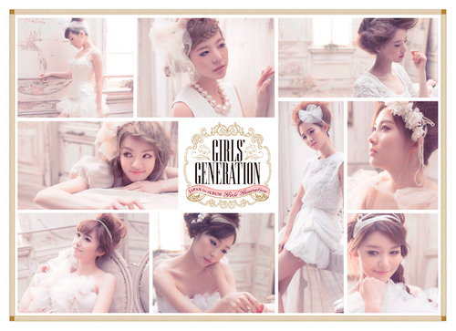 Girls' Generation/SNSD 1st Japanese Album Wallpapers - kpop Photo